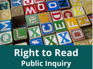Episode 45: Public inquiry into human rights issues affecting students with reading disabilities in Ontario